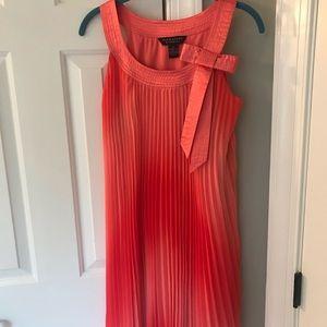 Robbie Bee Dresses - Coral cocktail dress